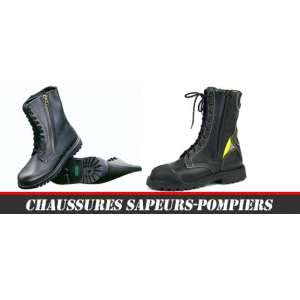 Chaussure pompiers