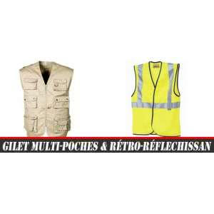 Gilet multi-poches & chasuble