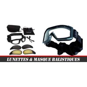 66e6f7a7ff Lunettes & Masques balistiques Militaire & Airsoft - Stock US