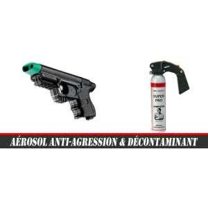 Aérosol anti-agression & Décontaminant