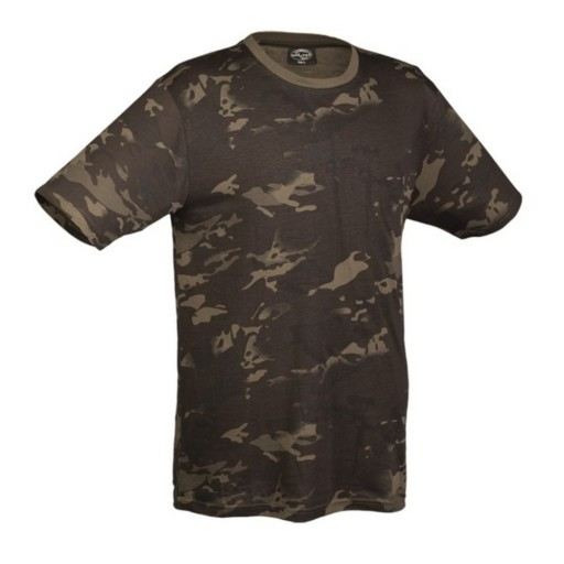 Tee Shirt multicam black- Coton