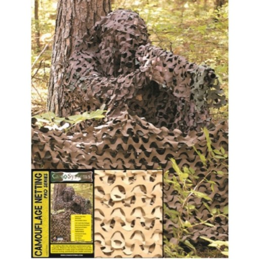 Filet de camouflage, Camosystems anti-feu 2.40m x 6.00m  - Sable