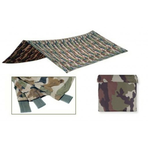 Bache militaire Camouflage CE Teo pro