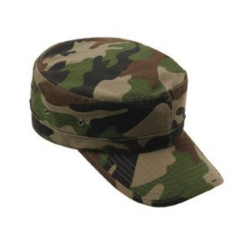 Casquette militaire type us ripstop
