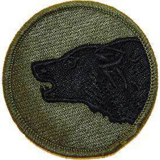 PATCH Wolf ARMY 104TH INF.DIV.