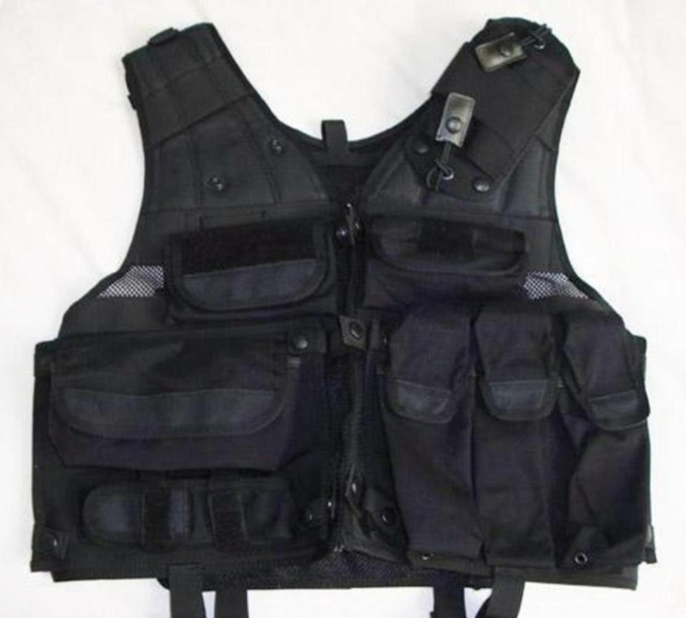 Gilet intervention gk gendarmerie ou police surplus for Housse gilet pare balle gk