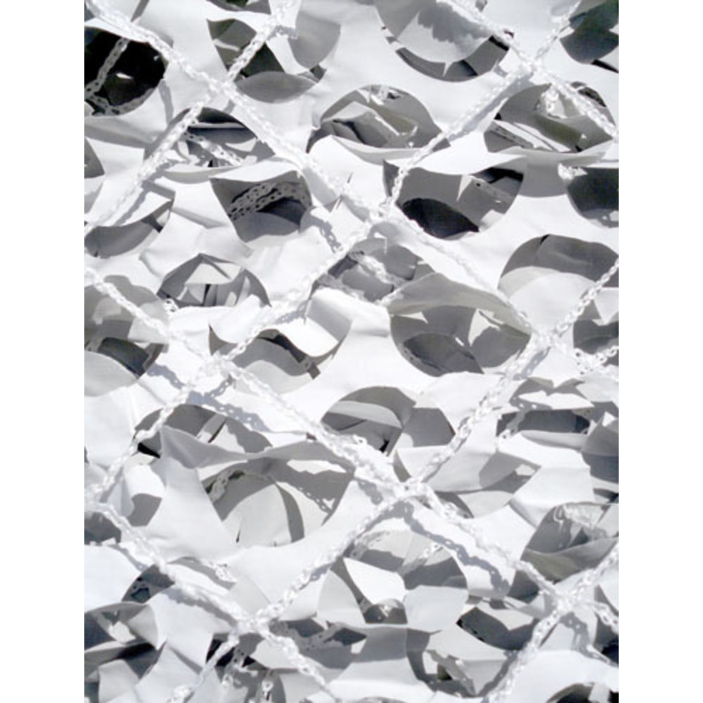 Filet camouflage militaire renforc blanc 6 x 3m camosystems anti uv stock us - Voile d ombrage camouflage ...