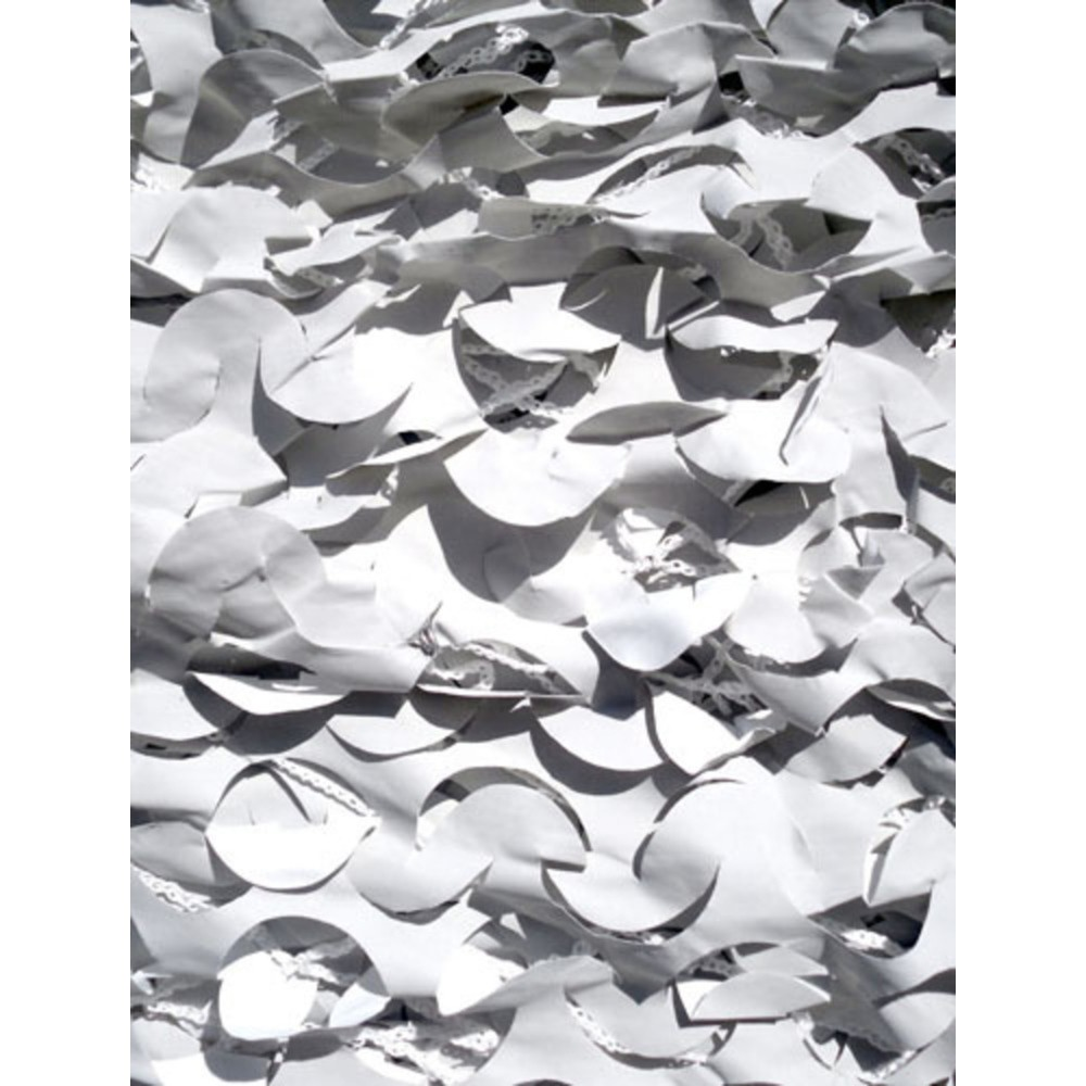 Filet camouflage militaire renforcé Blanc 6 x 3m, CamoSystems Anti ...