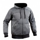Sweat zippé Ghost gris