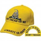 Casquette Don't tread on me - Liberty or death
