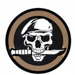 Patch Mercenaire militaire- Tan