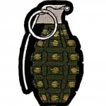 Patch US - Grenade- OD