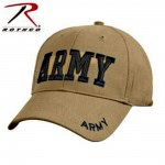 Casquette Us Army Sable- Rothco