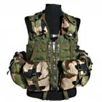 Gilet tactical GT1 CE camouflage