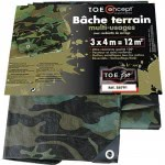 Bache camouflé multi-usages 3 m x 4 m