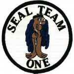 PATCH / ECUSSON - US SEAL TEAM thermo collant