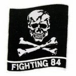 "PATCH USN "" FIGHTING 84 """