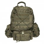 Sac a dos cougard  olive 45 litres