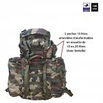 Sac à dos 100 L Ripstop camouflage