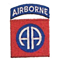 PATCH / ECUSSON 82nd airborne AA normal