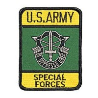 PATCH / ECUSSON special forces US ARMY