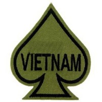 PATCH / ECUSSON - AS de pique VIETNAM