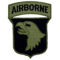 PATCH / ECUSSON -ARMY 101ST AIRBONE aigle