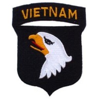 Patch Airsoft Vietnam AIRBORNE - aigle
