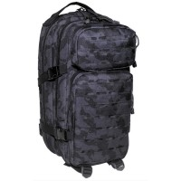"Sac à dos Assault I ""Laser"" Black camo"
