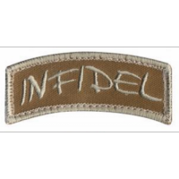Patch US -infidel - Sable