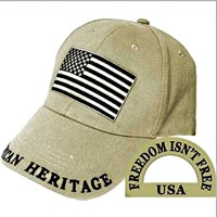 Casquette de Baseball US - beige - Eagle Emblems