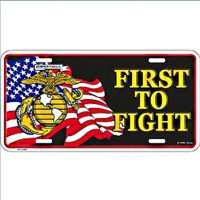 Plaque US - First to fight