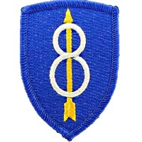 Patch US- 8ème Infanterie