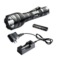 Lampe torche rechargeable T.O.E. Tactical Light high - 620 Lumens