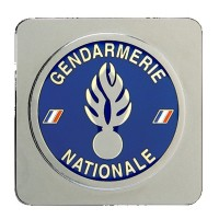 Médaille Gendarmerie Nationale à support carré