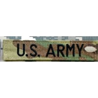 Bande patronymique Us Army - Multicam