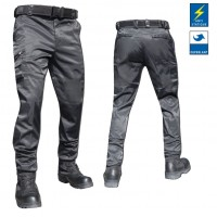 PANTALON INTERVENTION PLATINIUM NOIR