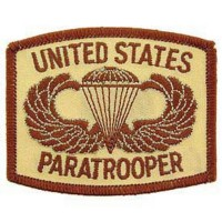 PATCH / ECUSSON - U.S. ARMY, paratrooper