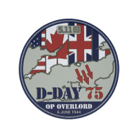 PATCH D-DAY 75 ANS FRANCE