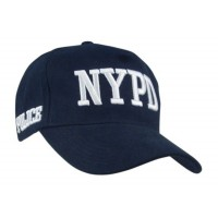 Casquette Police NYPD brodée ( avec licence)