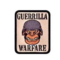 Patch / Ecusson Guerrilla Warfare
