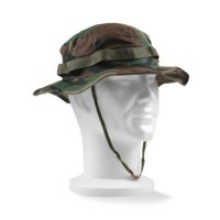Chapeau jungle camouflage woodland Usmc