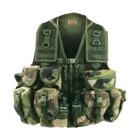 Gilet combat tactique jungle arktis k170 normes OTAN