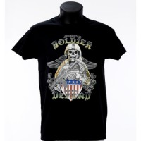 Tee shirt American Soldier Defend - Bartavel