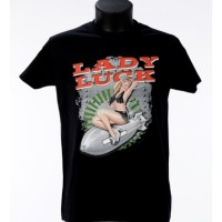 Tee shirt Lady Luck- Bartavel