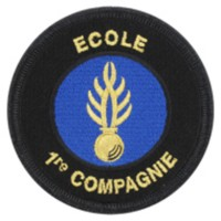 Ecusson Brodé Gendarmerie Compagnie d'Instruction des Elèves Gendarmes