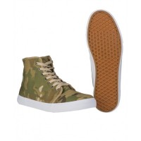"""Chaussures type """"Converse"""" Camouflage Multicam"""