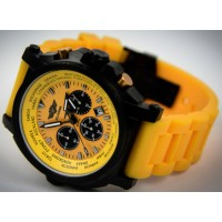 Montre aviateur jaune Flieger