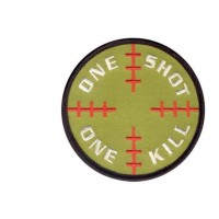 PATCH / ECUSSON one shot one kill velcro