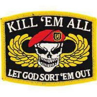 PATCH / ECUSSON KILL'EM ALL LET GOD SORT'EM OUT